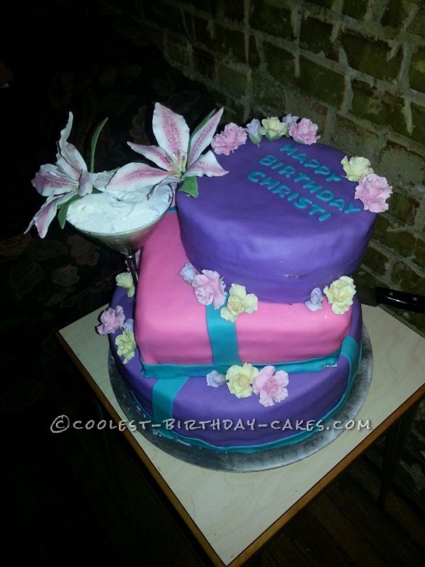 40th Birthday Cake for Party Girl