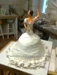 Awesome Flamenco Dancer Cake