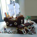Awesome But Easy Pirate Theme Cake