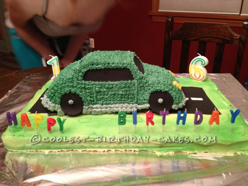 Awesome Car Cake
