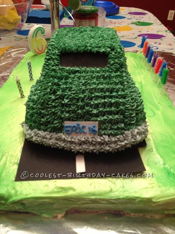 Awesome Car Cake