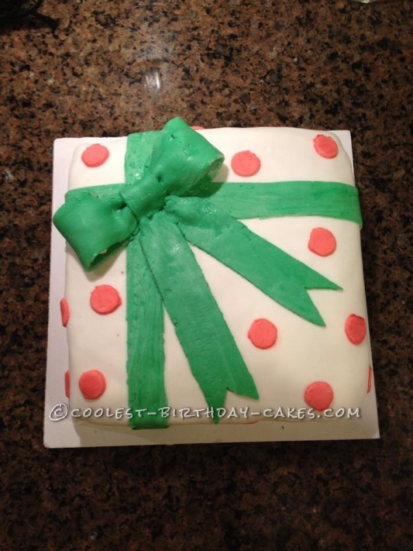 Awesome Present Cake