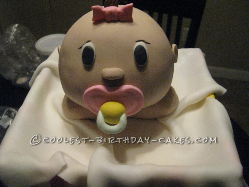 Baby Doll in a Box Cake