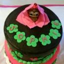 Baby Girl Monkey Cake