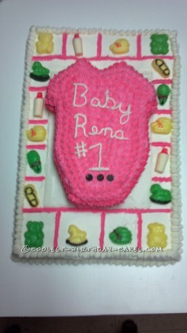 Coolest Baby Shower Cake