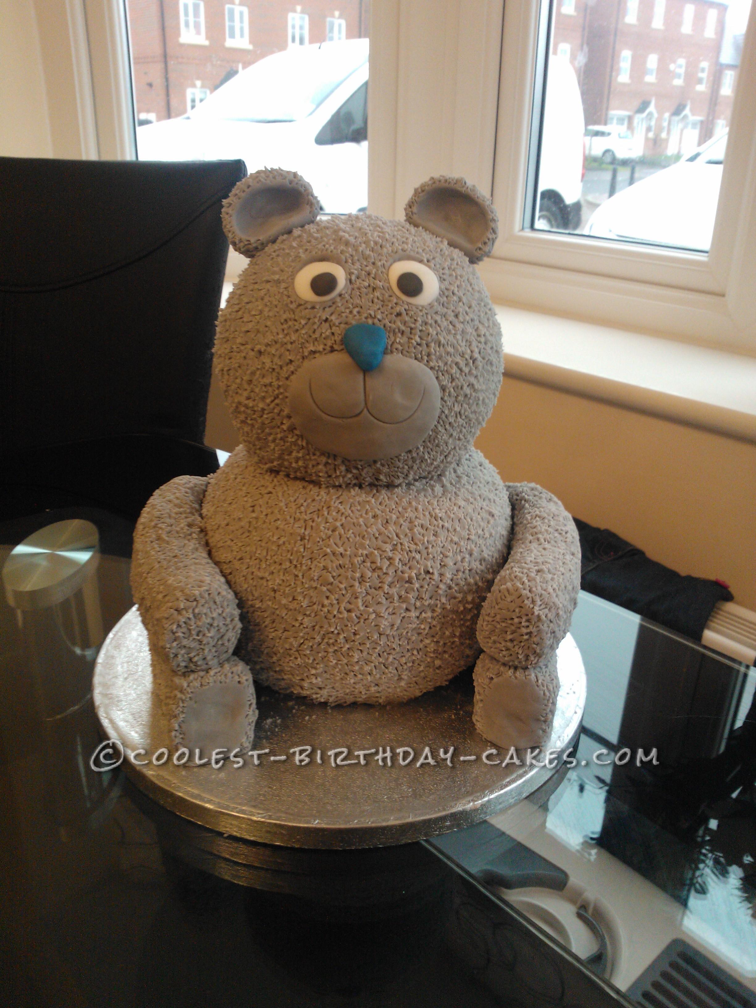 Baby Shower Tatty Teddy Cake