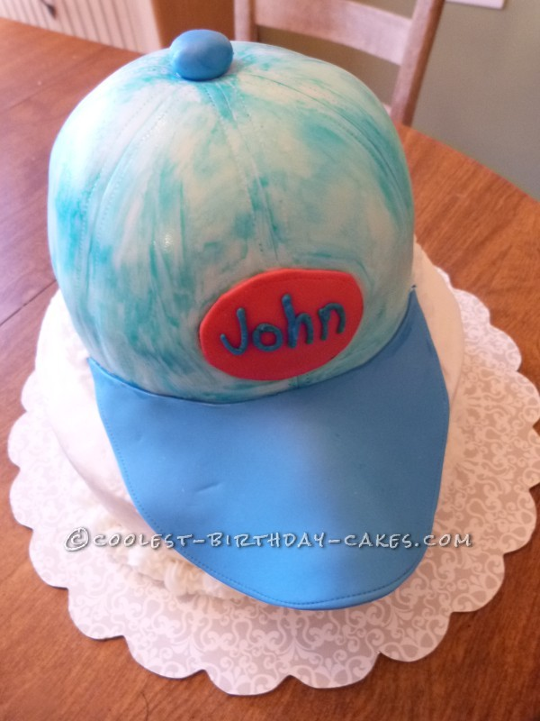 Cool Baseball Cap Cake