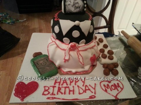 Beautiful I Love Lucy Cake