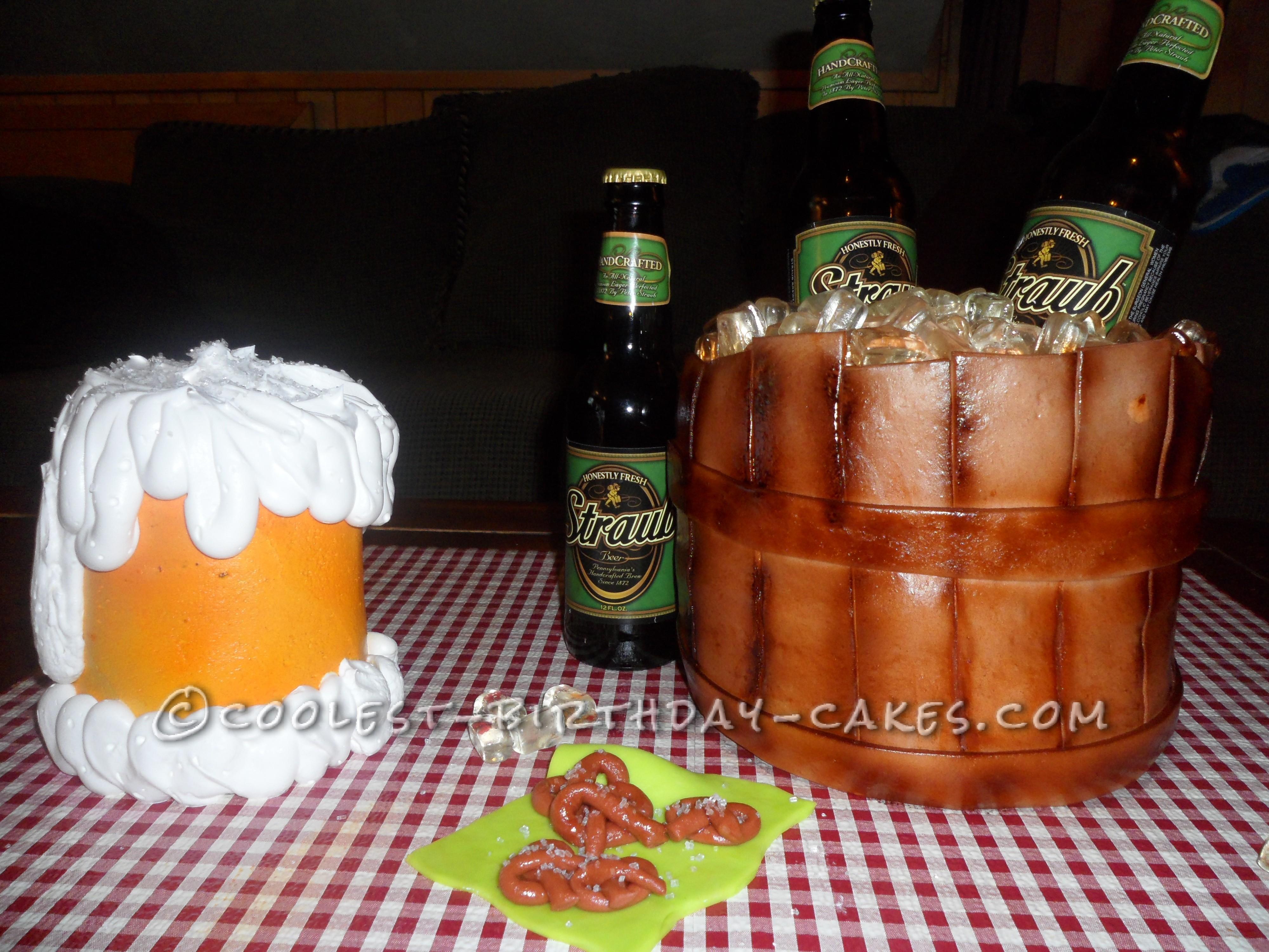 Coolest Beer Cooler Cake
