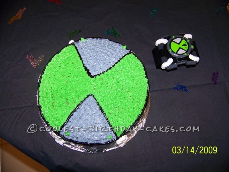 Coolest Ben 10 Birthday Cake