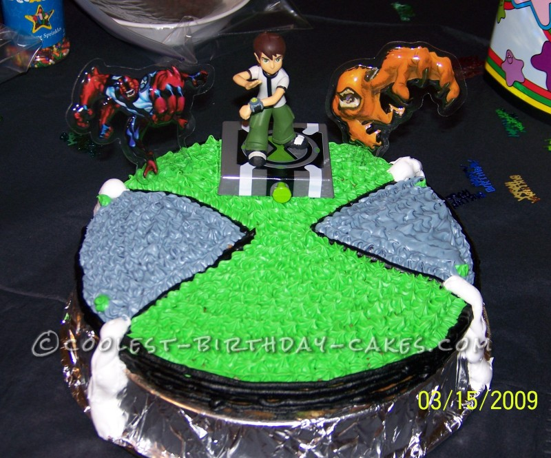 Coolest Ben 10 Birthday Cake