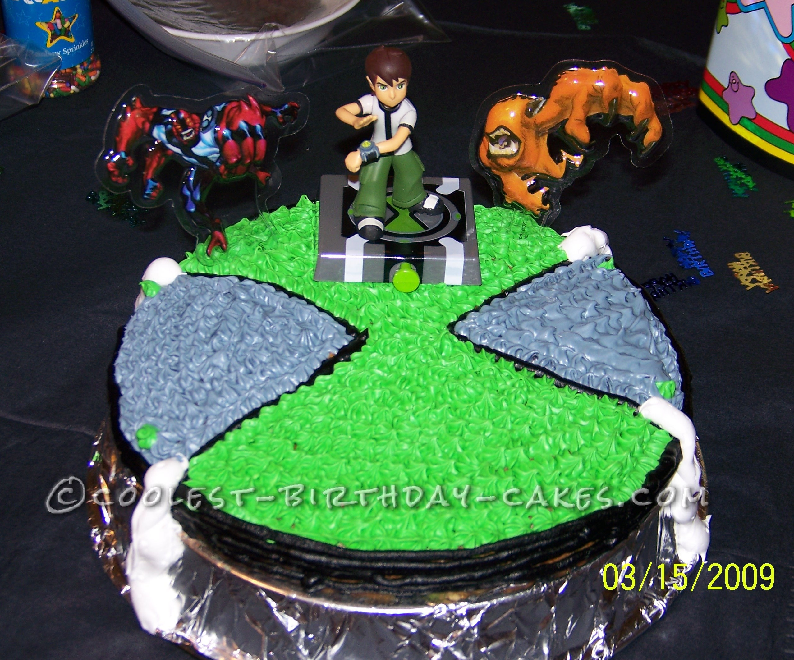 Cool Homemade Ben 10 Watch Birthday Cake For A 6th Birthday