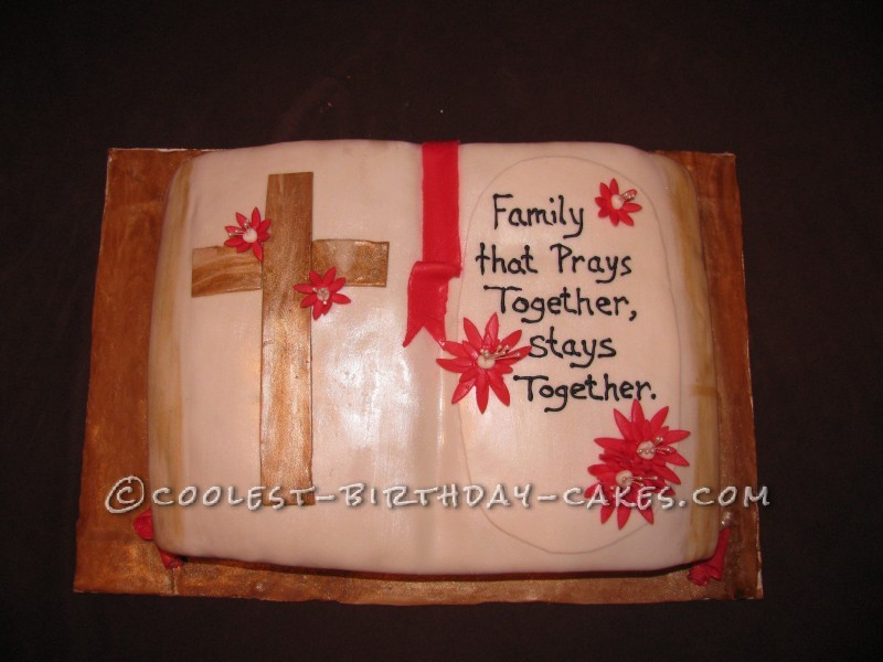 Family Reunion Bible Cake