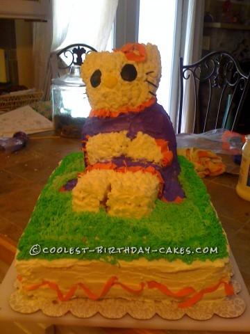Big Hello Kitty Cake