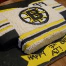 Boston Bruins Hockey Jersey Cake