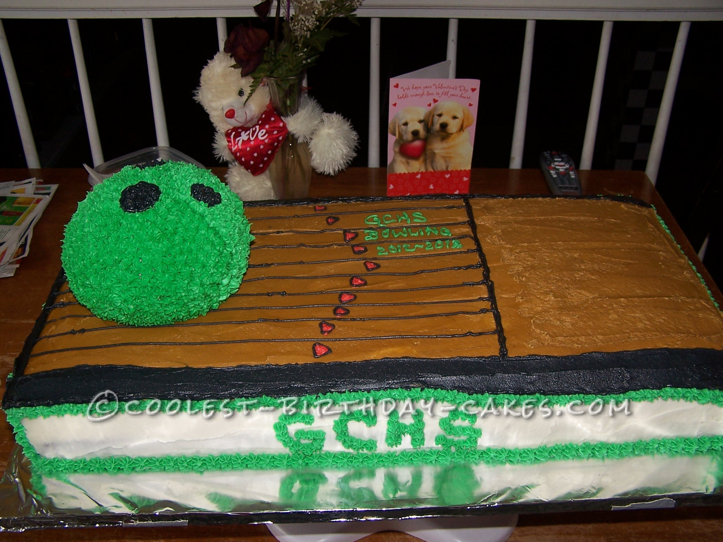 Coolest Bowling Cake