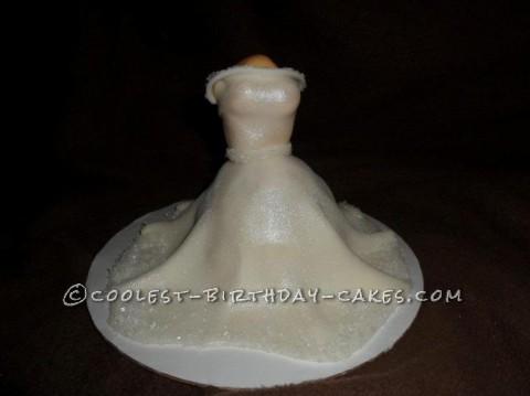 Coolest Wedding Shower Cupcake