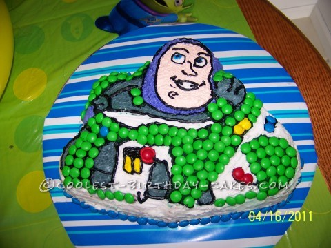 Cool Buzz Lightyear Birthday Cake