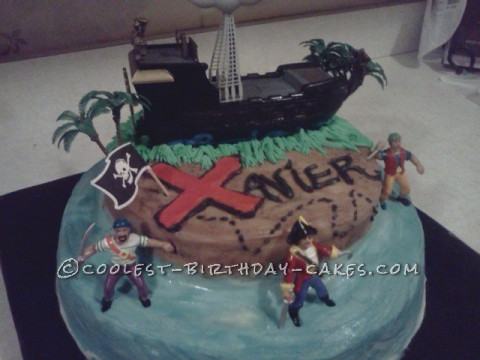 Cool Cake for Pirate Fan