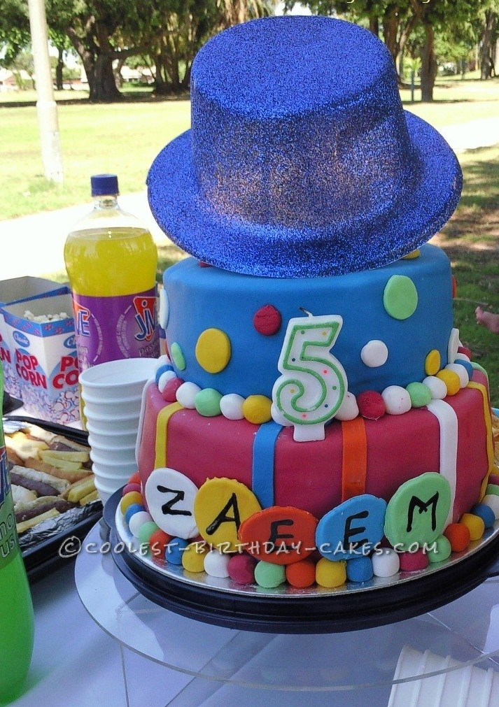 Coolest Carnival Birthday Cake