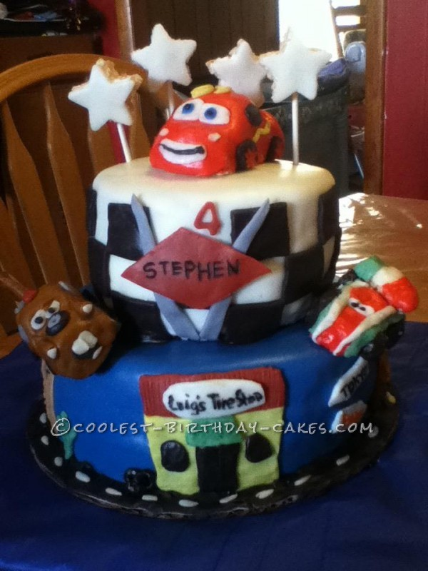 Coolest Cars 2 Birthday Cake