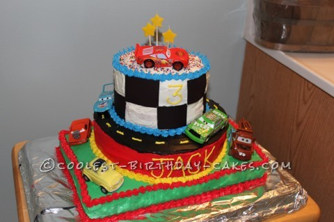 Coolest Disney Cars Cake