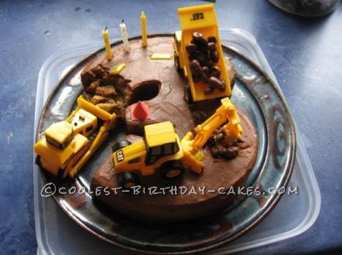 Cool Construction Cake