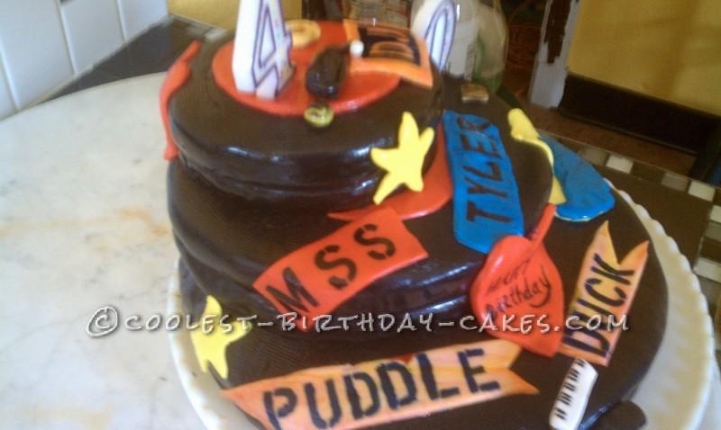 Cool DJ Birthday Cake