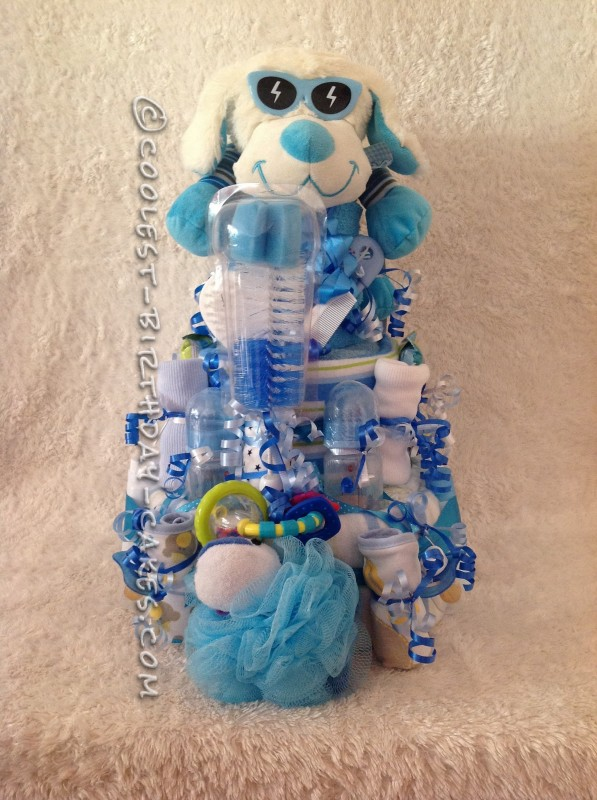 Coolest Nappy Cake