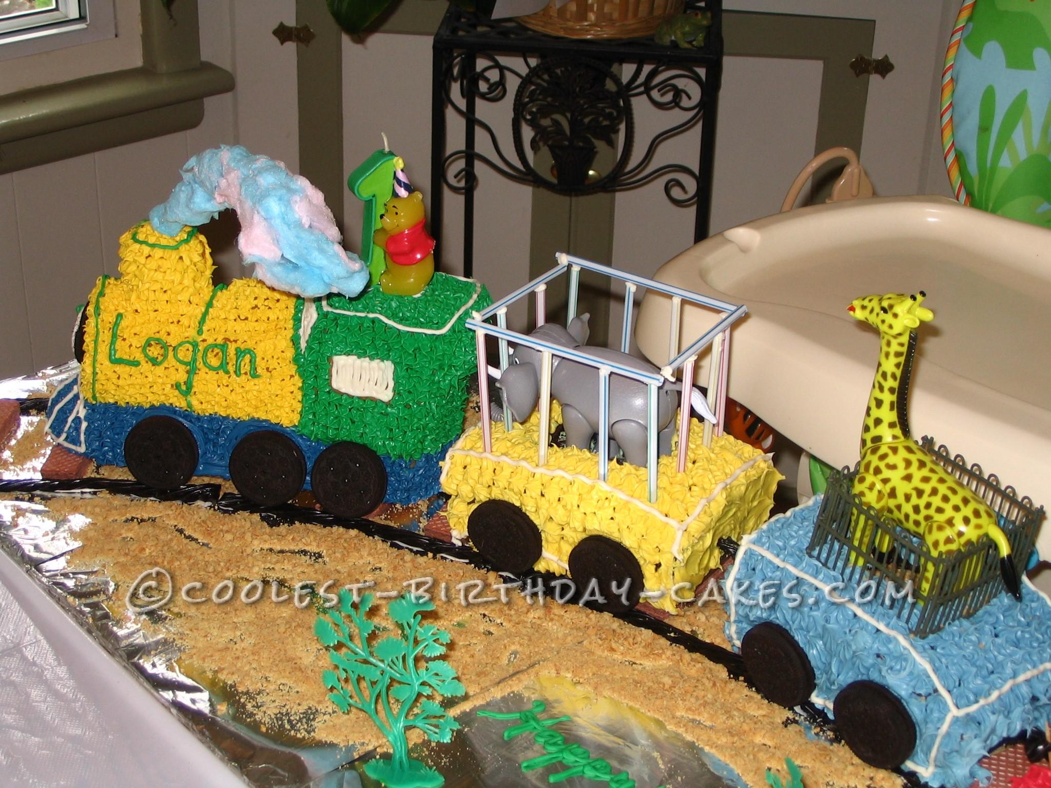 Circus Train closeup