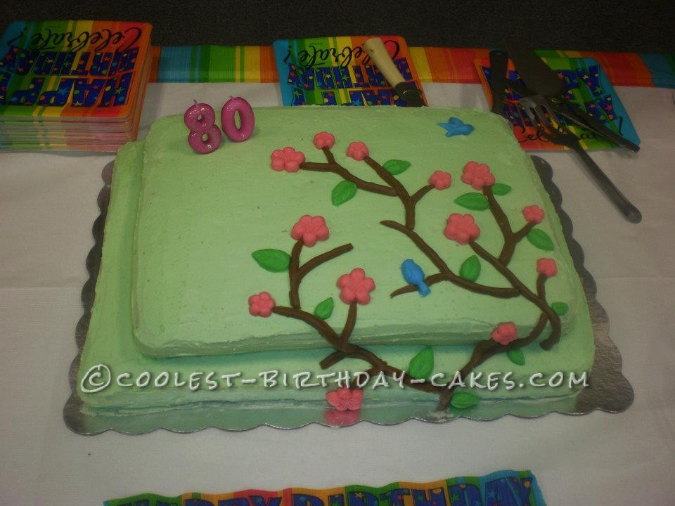 Coolest 80th Birthday Cake for Granny