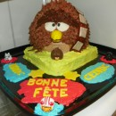 Coolest Angry Birds Star Wars Chewbacca Cake