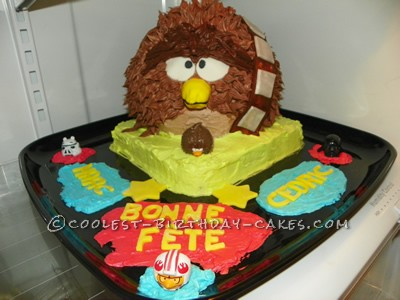 coolest homemade chewbacca cakes