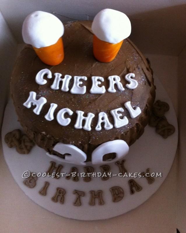 Coolest Barrel Birthday Cake