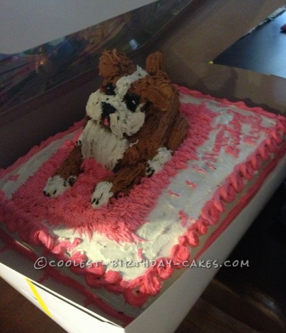 Coolest Boxer Dog Cake