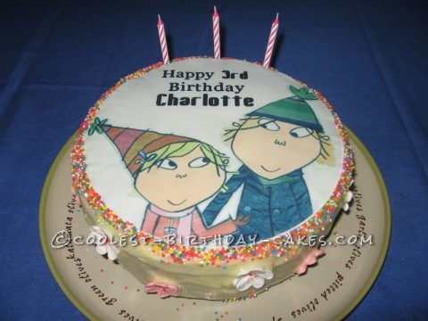 Coolest Charlie and Lola Cake
