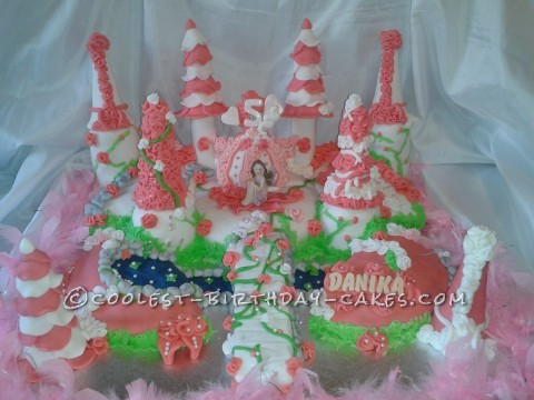 Coolest Enchanted Fairy Land Cake