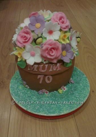 Coolest Flowerpot Birthday Cake