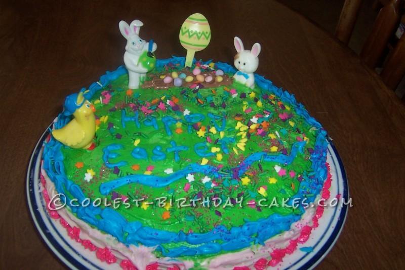 Coolest Kids Easter Cake