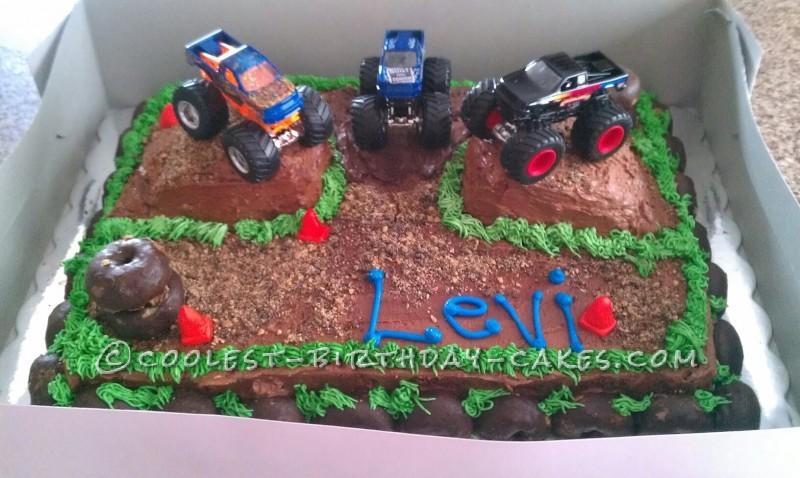 Easy Monster Truck Cake Ideas 54302 Monster Truck Cake Ide