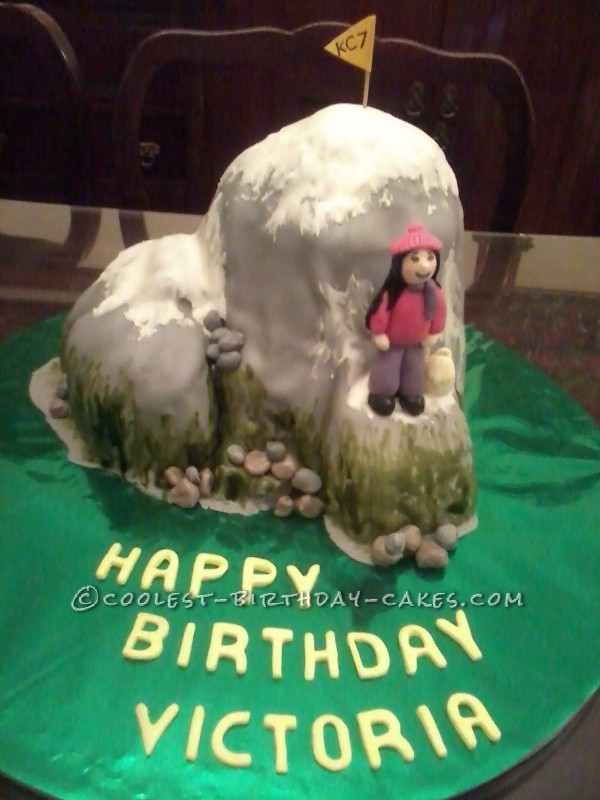 Coolest Mountain Cake