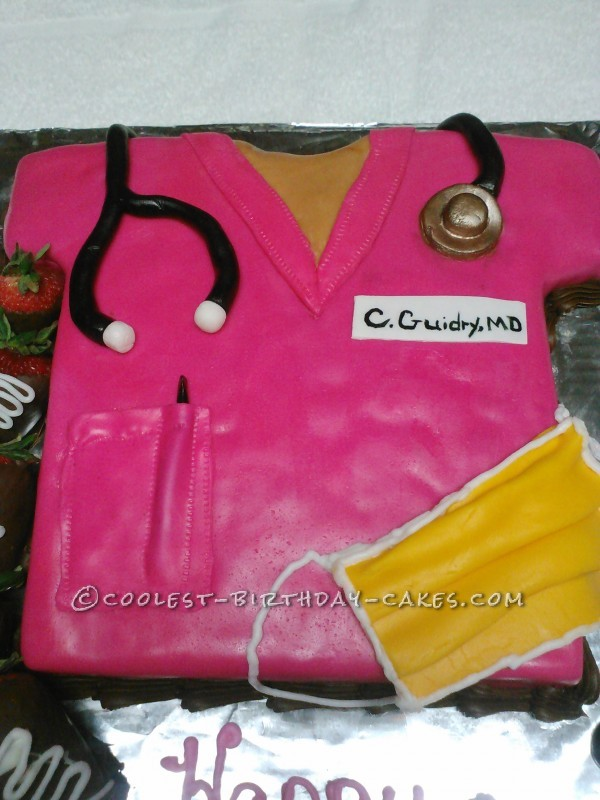 Coolest Birthday Cake for Gynecologist