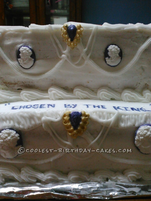 Coolest Queen Esther Cake