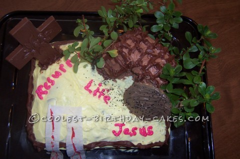 Coolest Resurrection Life Easter Cake