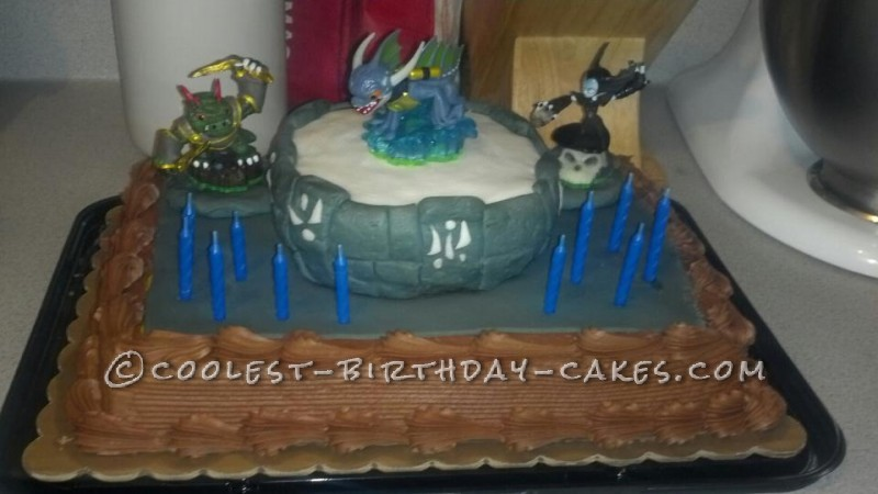 Coolest Skylanders Cake