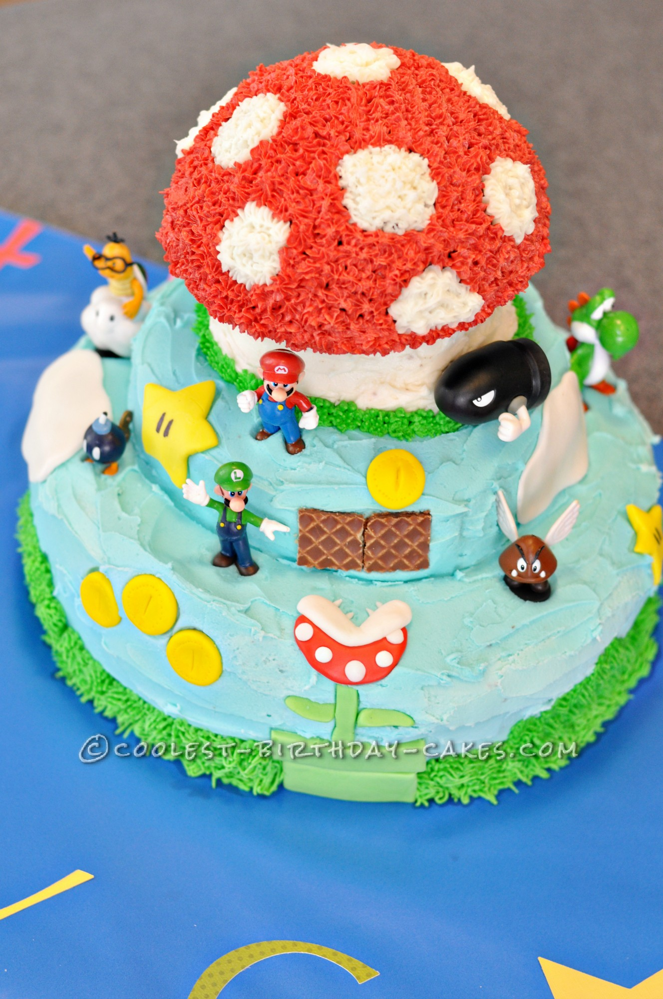 Coolest Super Mario Bros Cake