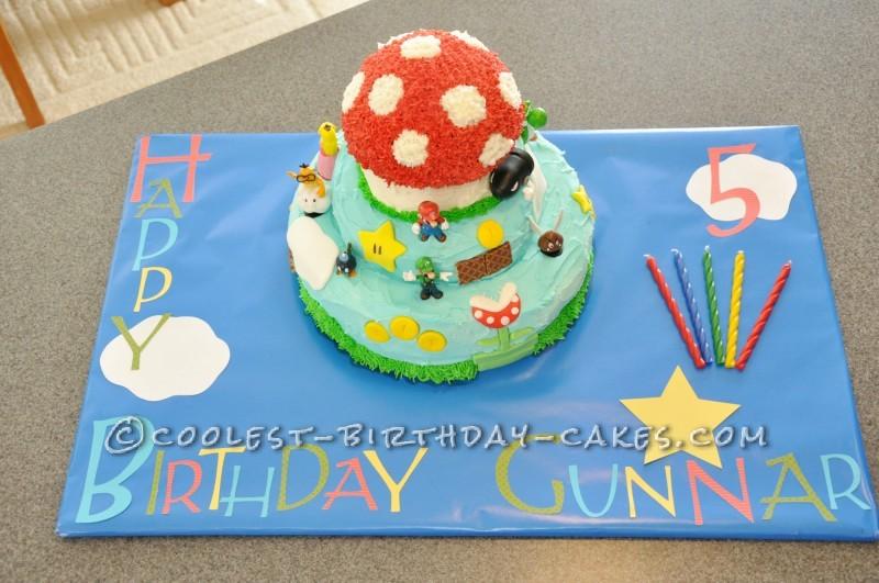 Coolest Super Mario Bros Cake