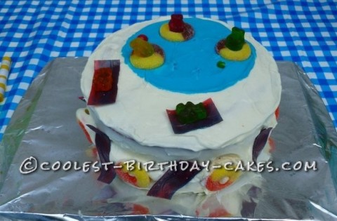 Coolest Swimming Pool Cake