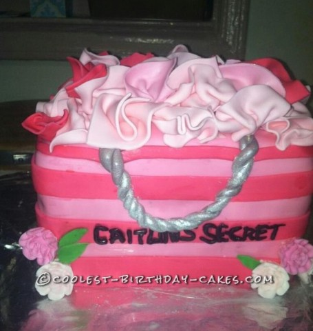 Coolest Victoria Secret Birthday Cake