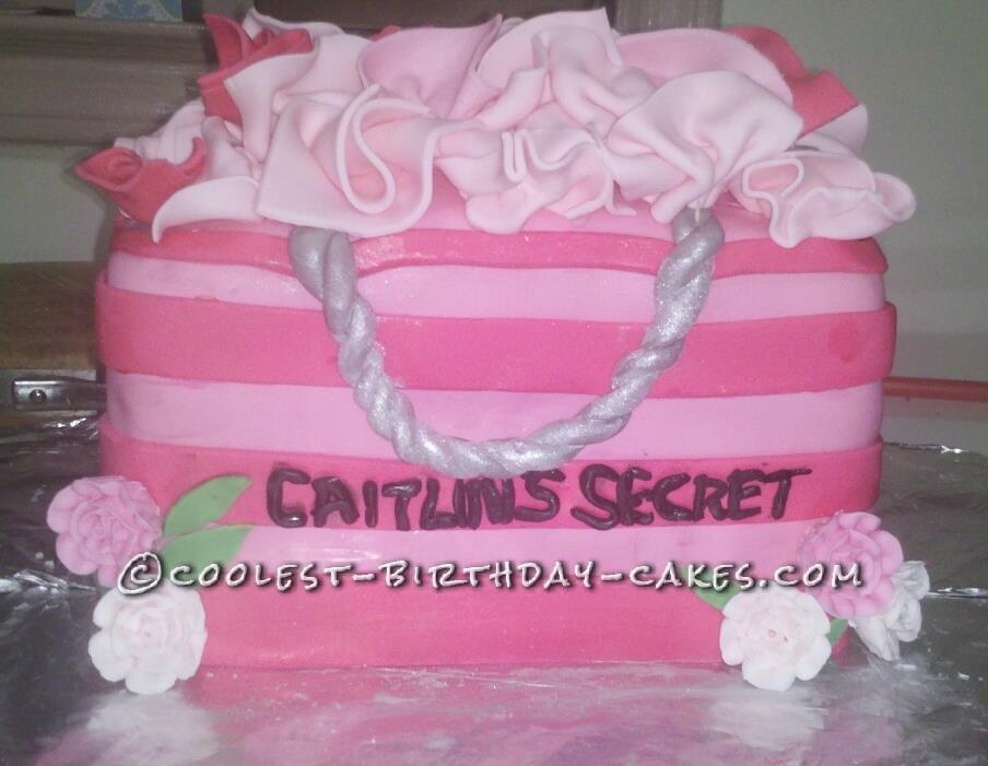Coolest Victoria Secret Birthday Cake